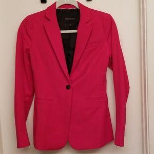 NWOT Pink Banana Republic stretch blazer
